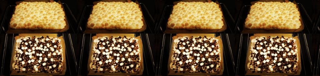 Bombastische Marshmallow-Kokos-Brownies